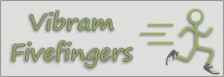 Vibram Fivefingers Logo on Runblogger
