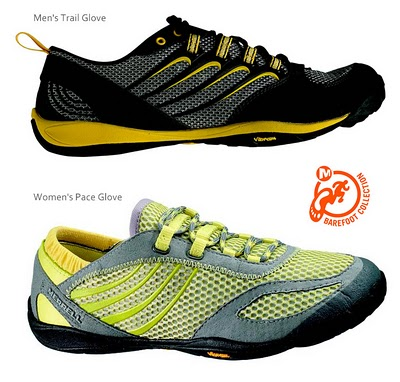 Merrell Trail Glove and Pace Glove