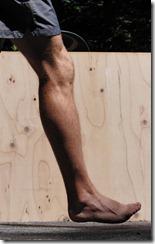 Barefoot Footstrike