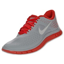 Nike Free 4.0 v2 gray red