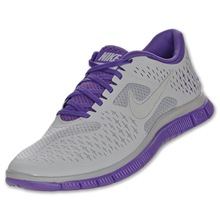 Nike Free 4.0 v2 gray purple