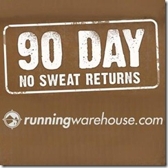 Running Warehouse Returns