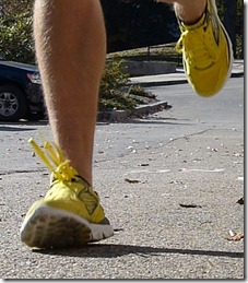Footstrike Skechers GoRun