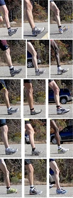 Foot Strike Variation