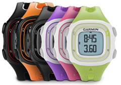Garmin Forerunner 10 colors