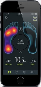 Sensoria Smart Sock App