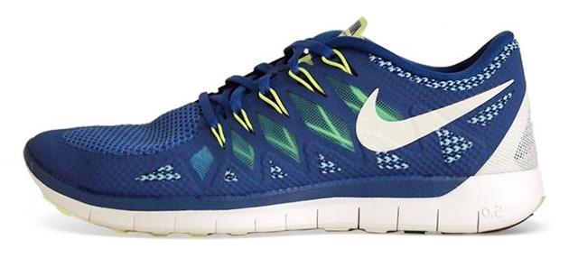 Nike Free 5.0 v2 blue