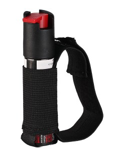 Running Pepper Spray