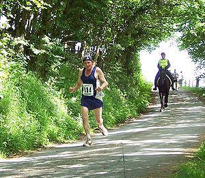 The Man Versus Horse Marathon