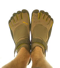 Running in Vibram Fivefingers: First Impressions