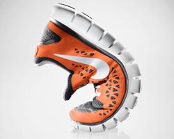 Nike Free Run+ Orange