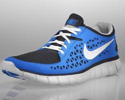 Nike Free Run+ Blue