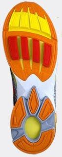 Newton Running Shoe Actuator Lugs