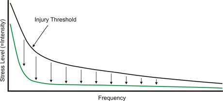 Vibram Injury Graph