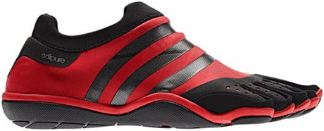 Adidas Adipure Barefoot Black Red