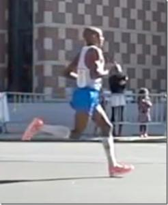 Meb Keflezighi's Running Form in Slow Motion: Boston 2010, NYC 2010, and NYC 2011