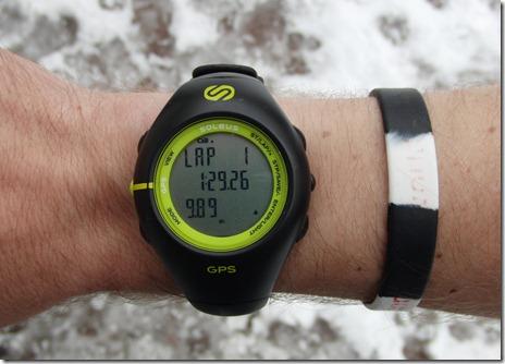 Soleus GPS 1.0 Wrist Top
