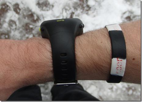 Soleus GPS 1.0 Wrist Side