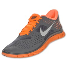 Nike Free 4.0 v2 gray orange 2