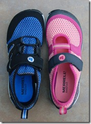 Merrell Barefoot Kids Pure and Trail Glove