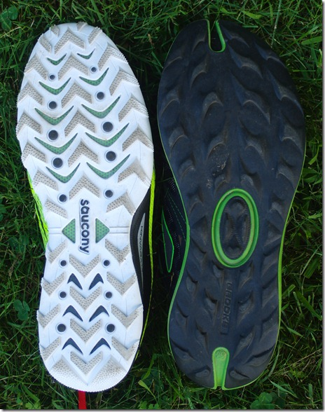 Kinvara TR vs Brooks Grit
