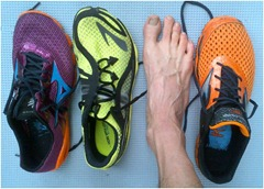 Brooks Drift, Mizuno Evo Levitas, Mizuno Evo Cursoris: Comparative Review by Fred Brossard