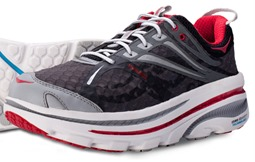 Hoka Bondi-B-Black-Red