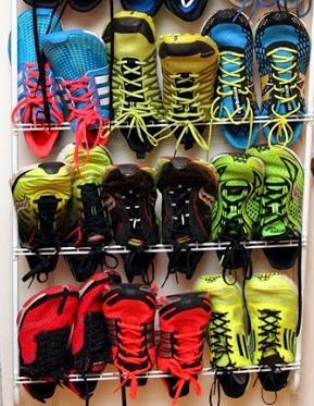 Running Shoe Rack