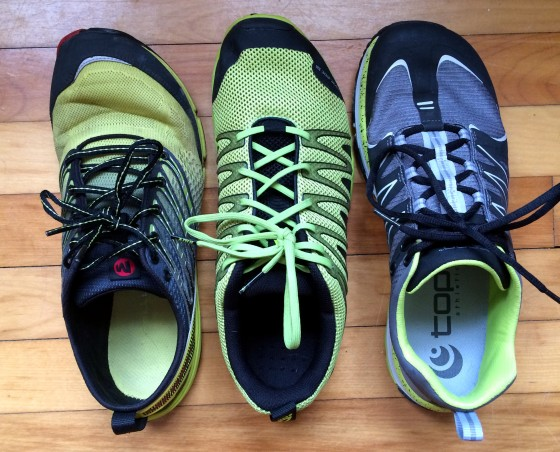 3 Shoes Compare