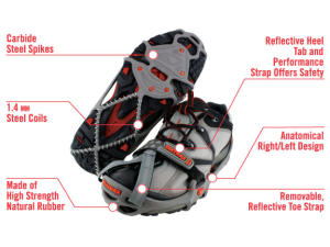 Review of YakTrax Run Traction Cleats