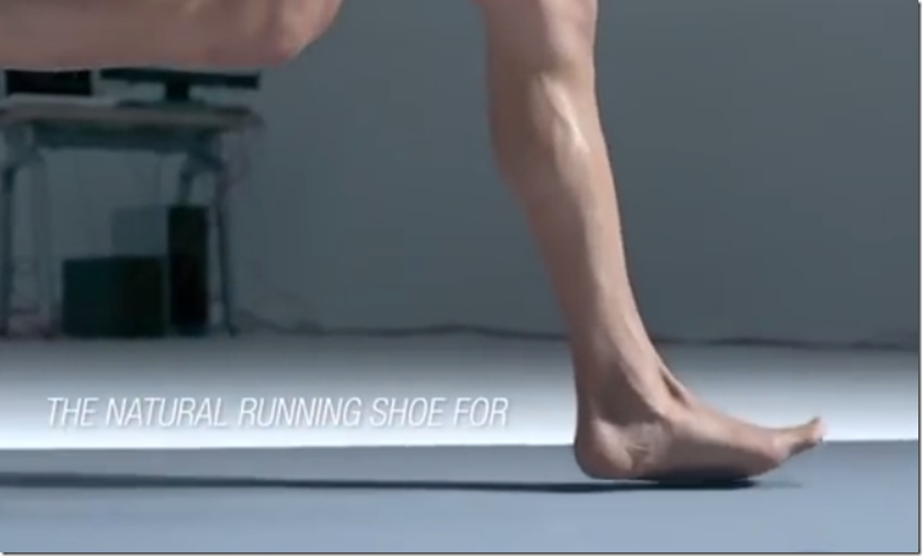 Asics Barefoot Foot Strike