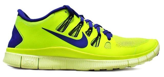 Nike Free 5.0  side blue