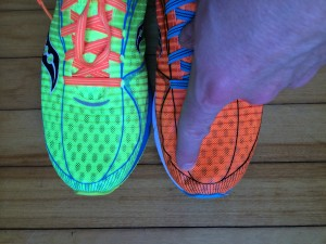 Saucony A6 Sizing