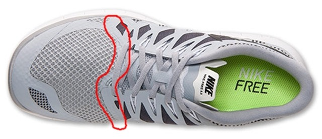 Nike Free 5.0 2014 overlay