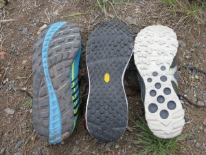 Three Shoes Soles