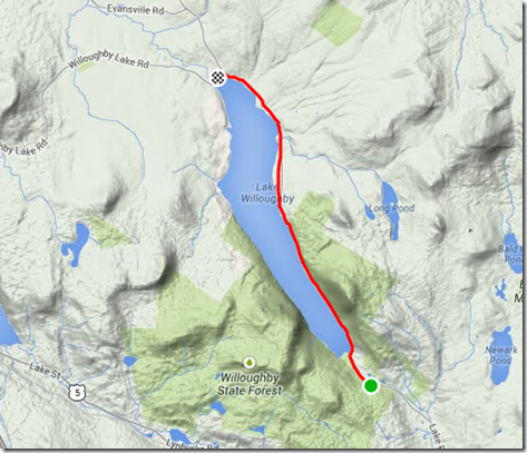 Lake Willoughby Route
