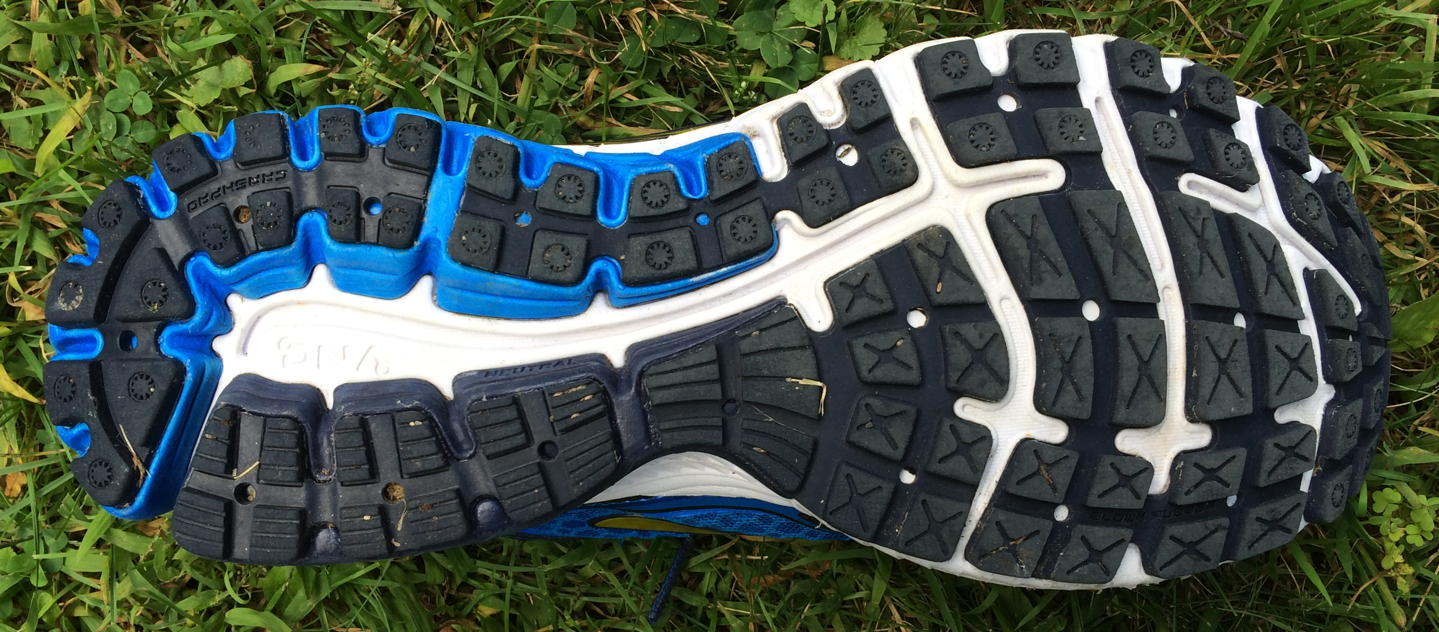 Running Shoe Sole Patterns