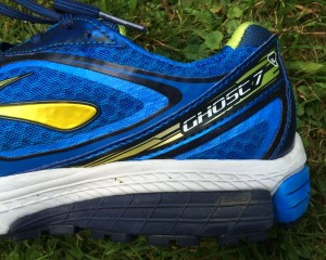 Brooks Ghost 7 heel