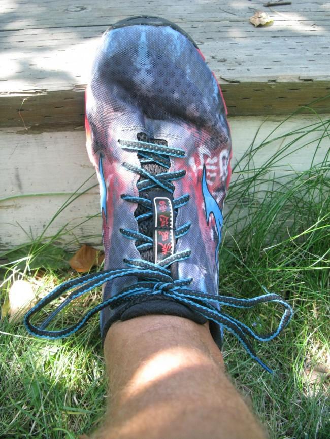 Mizuno Hayate on Foot