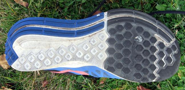 Nike Zoom Elite 7 sole