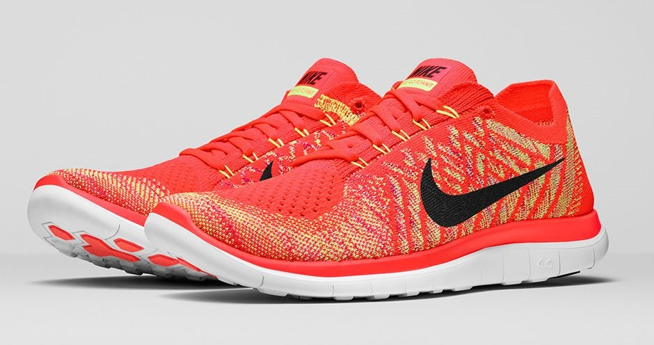 nike free 4 0 womens red tops