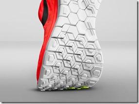 Nike Free 5.0 sole bend