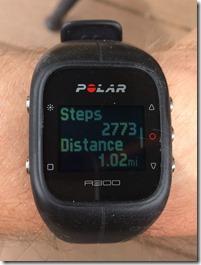 Polar A300 Steps
