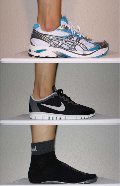 Form Differences Among Barefoot Running Minimalist Shoe And Standard