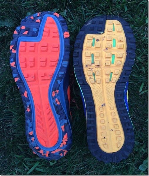 Nike Wildhorse 2 v 3 Sole