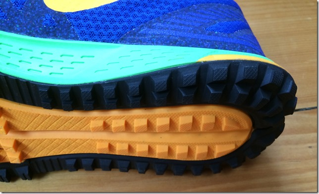 Nike Wildhorse 3 Heel Lugs