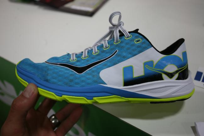 Upper is a pretty stripped back traditional racing shoe style and should function well. Both the Tracer and Carbon Rocket appear to be on a more standard racing shoe style last.