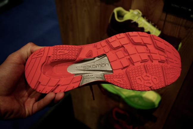 Carryover midsole and outsole from everything I could tell.
