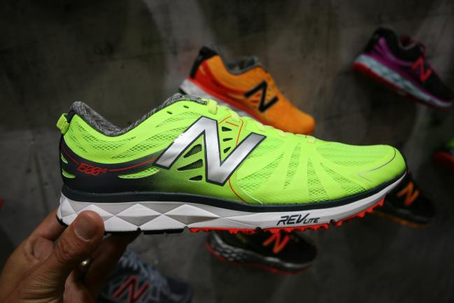 New, refined upper with carryover midsole/outsole.