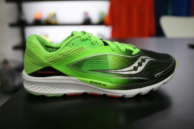 The good 'ole Kinvara in its 7 iteration. Now with a new tech called Everrun in the heel.